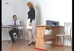 داغ دانش آموز بمکد دیک بزرگ در دفتر کلیپ پورن عربی
